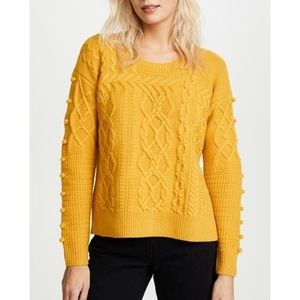 Madewell Knit Bobble Side Sweater